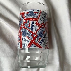 Budweiser Dining - Vintage Budweiser cup